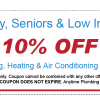 plumbing heating air conditioning discounts santa fe nm